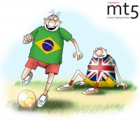 Brazil outstripped Great Britain in the rating of the world largest economies
