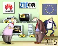 EU accused China of underpricing network equipment