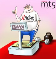 Yandex gained 55% during the first trading day