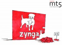 Zynga shares lost 5% at the first day after IPO