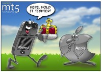 iPhone 5 sales put Apple on top again