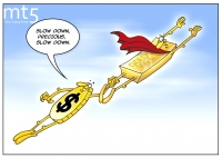 Firm USD takes shine off gold