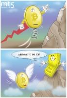 1 Bitcon setara dengan harga emas