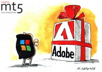 Adobe shares skyrocket on Microsoft buy report