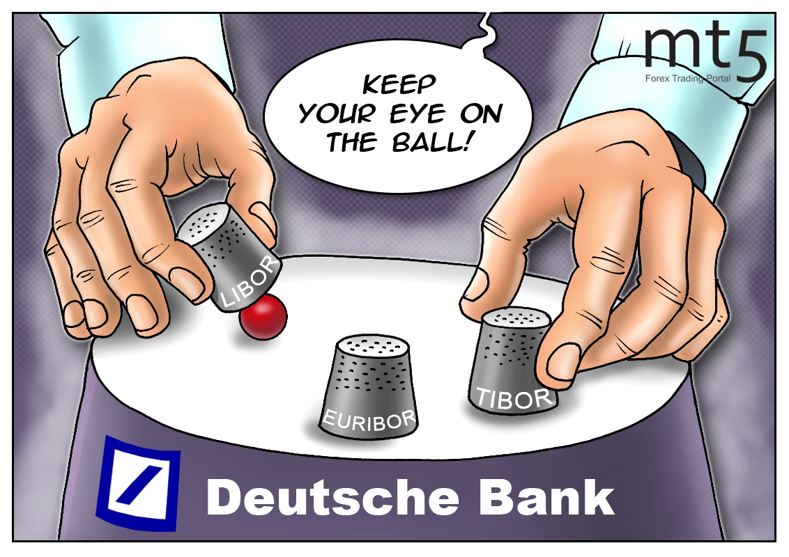 Risultati immagini per euribor cartoons deutsche bank