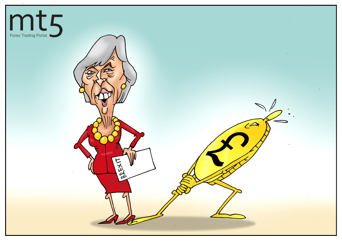 Падает валюта, в парламенте бардак, британскому премьеру желаем мы всех благ!