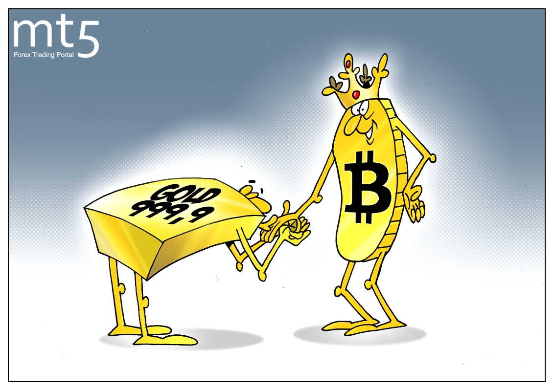 Cryptocurrencies to overshadow glitter of gold