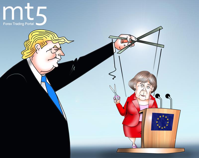 Меркель призвала Европу взять судьбу в собственные руки