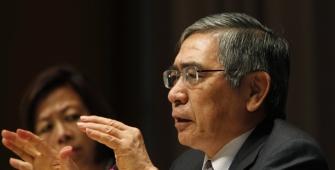 Kuroda: BOJ Sees No Reason to Ditch Monetary Stimulus, Raise Bond Targets