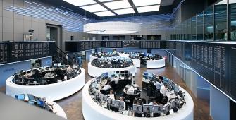 Bursa-bursa Eropa sedikit lebih tinggi terangkat oleh Unilever