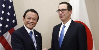 AS dan Jepang Mengkonfirmasi Para Pemimpin Keuangannya Akan Membahas Forex: Aso
