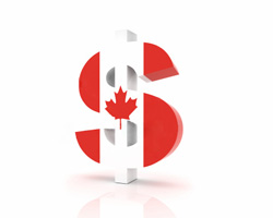canadian dollar eases after inflation data