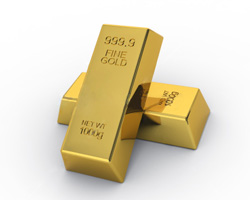 Gold Futures Settle Notably Lower