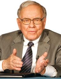 Warren Buffett -  CEO of Berkshire Hathaway holding company