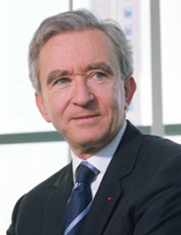 Bernard Arnault - Chairman and Chief Executive Officer of Moet Hennessy Louis Vuitton (LVMH)