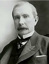 John Davison Rockefeller -  Co-founder of the Standard Oil Company
