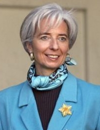 Christine Lagarde -  the Managing Director of the International Monetary Fund