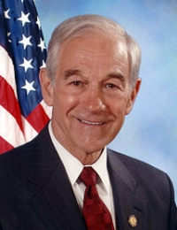 Ronald Paul - Member of the US House of Representatives from the state of Texas