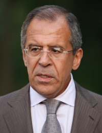 Sergey Lavrov -  Minister of Foreign Affairs of the Russian Federation