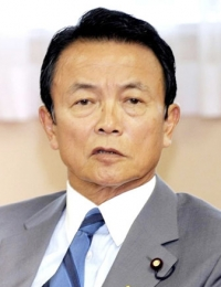 Taro Aso -  Finance Minister of Japan