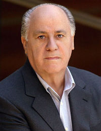Amancio Ortega - Co-founder and ex-president of Inditex group