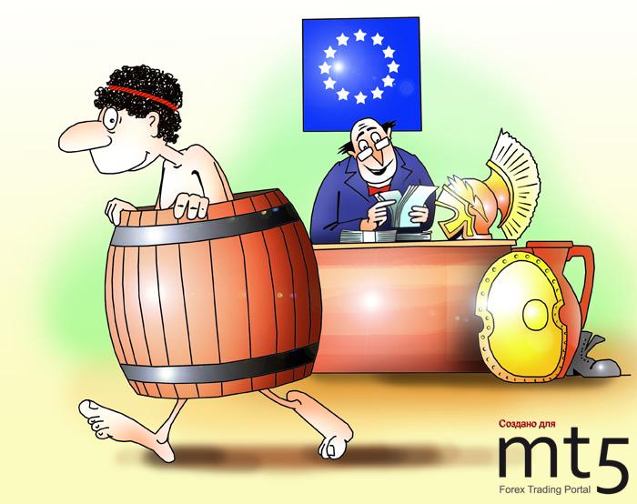 Греция сократила дефицит бюджета на 42 процента за полгода