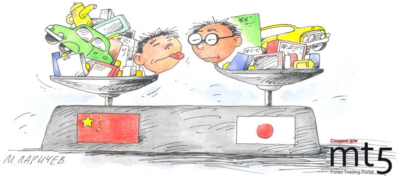 Китай обогнал Японию по объему ВВП