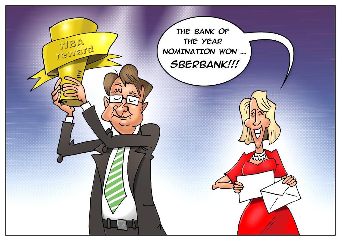 Sberbank receives Bank of the Year award