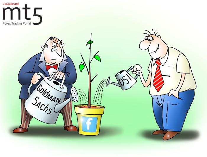 Goldman Sachs и российский инвестфонд DST вложили в Facebook полмиллиарда долларов