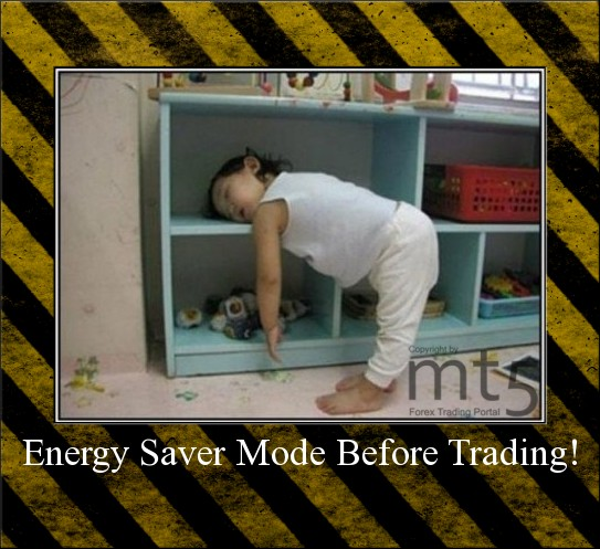Energy Saver Mode Before Trading!