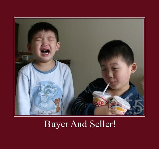Buyer And Seller!