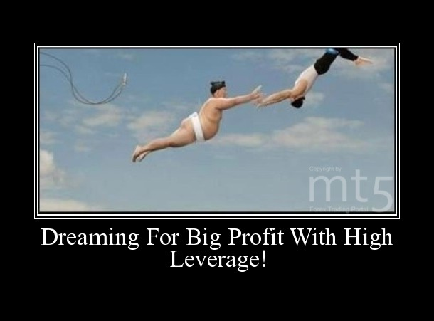 Dreaming For Big Profit With High Leverage!