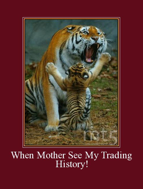 When Mother See My Trading History!