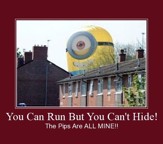 You Can Run But You Can't Hide!