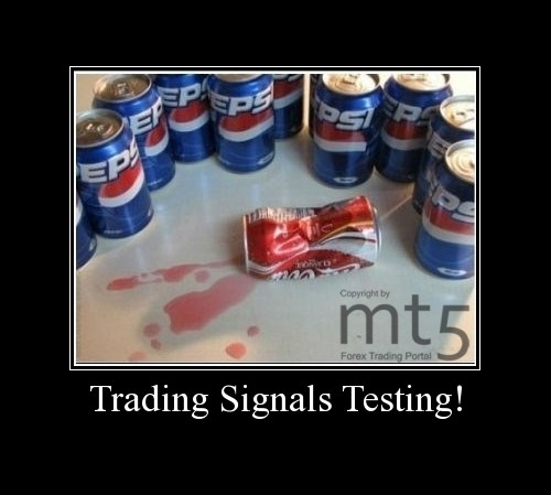 Trading Signals Testing!