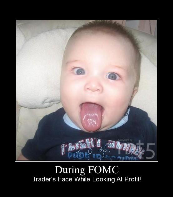 During FOMC