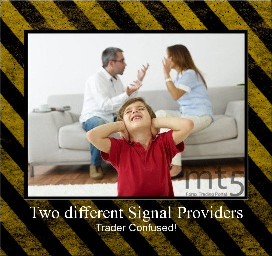 Two different Signal Providers