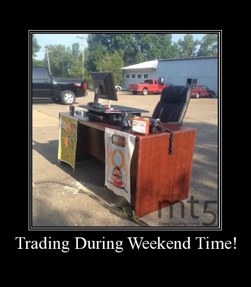 Trading During Weekend Time!
