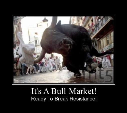 It's A Bull Market!