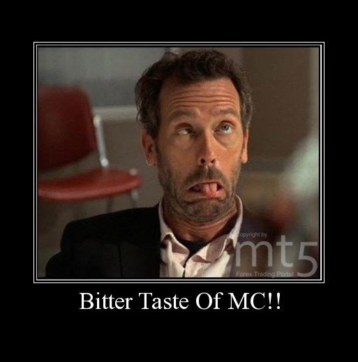Bitter Taste Of MC!!
