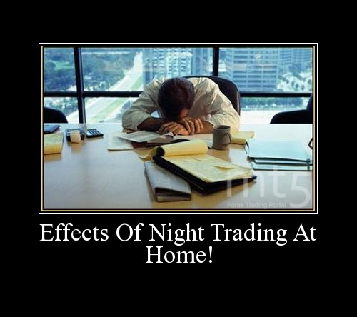 Effects Of Night Trading At Home!