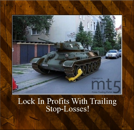 Lock In Profits With Trailing Stop-Losses!