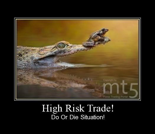 High Risk Trade!