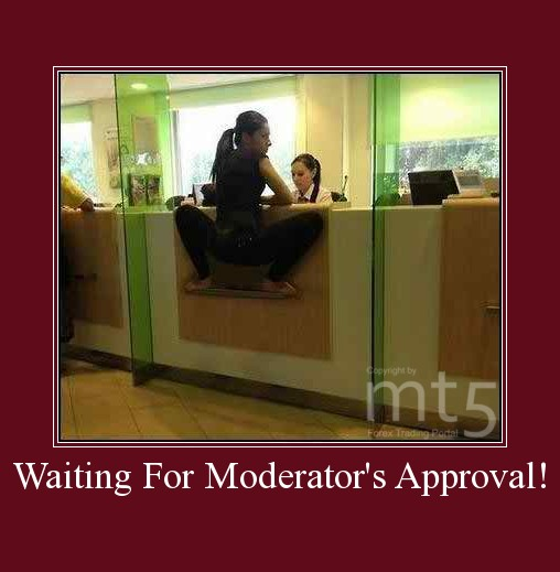 Waiting For Moderator's Approval!