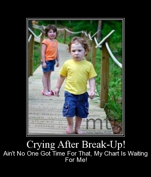 Crying After Break-Up!