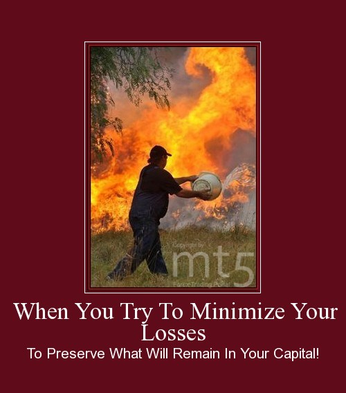 When You Try To Minimize Your Losses