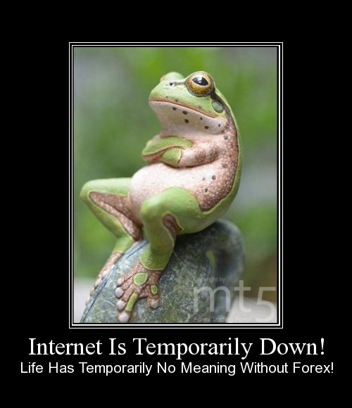Internet Is Temporarily Down!