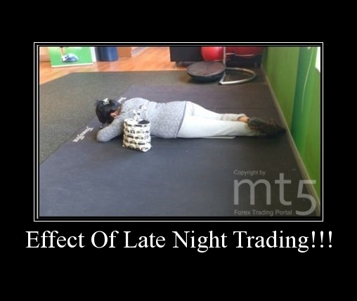 Effect Of Late Night Trading!!!