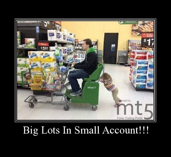 Big Lots In Small Account!!!