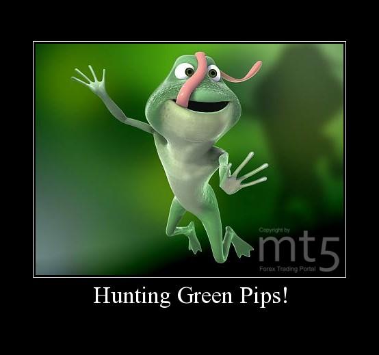 Hunting Green Pips!